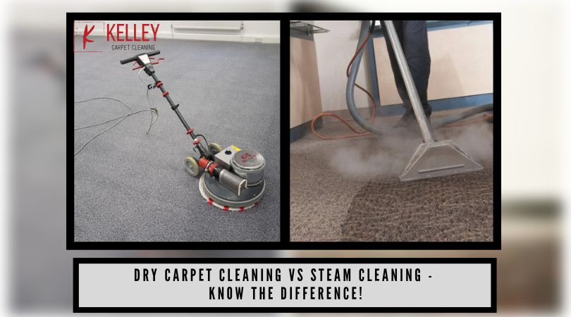 Dry Carpet Cleaning vs Steam Cleaning - Know The Difference!