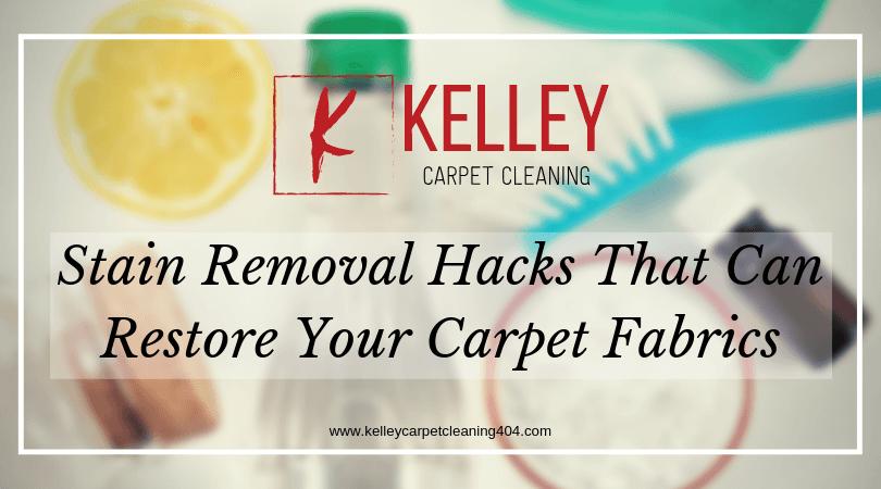 Carpet Stain Removal Hacks