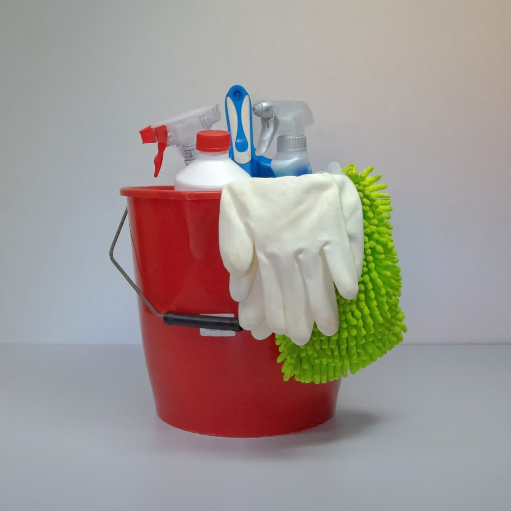 DIY cleaning items