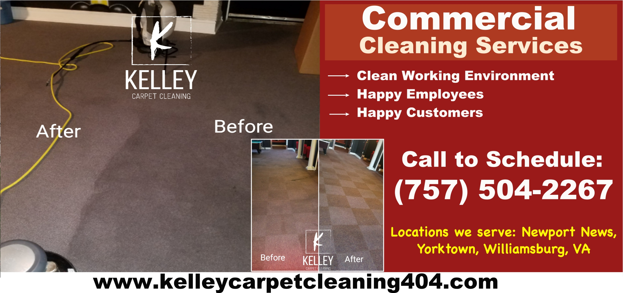 Commercial Carpet Cleaning Newport News